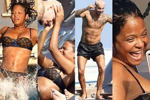 Zakochani Christina Milian i Matt Pokora bawią się na jachcie w Saint-Tropez (ZDJĘCIA)