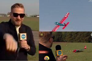 Tymczasem w DDTVN: Samolot skonstruowany przez studentów runął podczas wejścia na żywo...