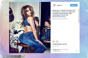 48-letnia pupa Jennifer Lopez reklamuje dżinsy
