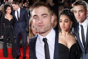 """Zapuszczony Pattinson obściskuje """"miłośniczkę pornograficznych sukienek"""" (ZDJĘCIA)"""
