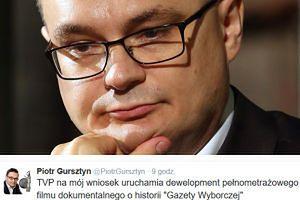 """TVP nakręci pełnometrażowy film o... historii """"Gazety Wyborczej"""""""