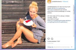 Naturalna Sonia Bohosiewicz je sernik w piżamie
