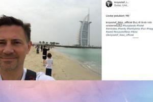Krzysztof Ibisz pozdrawia z Dubaju (FOTO)