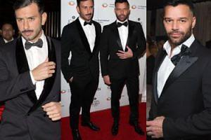Ricky Martin z narzeczonym na charytatywnej gali (ZDJĘCIA)