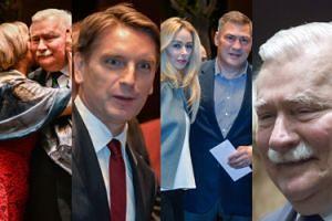 Goście na urodzinach Lecha Wałęsy: Lis, Michalczewski (!), całująca Danuśka... (ZDJĘCIA)