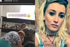 Justyna Żyła pakuje trofea męża w Dzień Ojca. Zrobiła relację na Instagramie (FOTO)