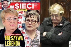 """Tygodnik """"wSieci"""" atakuje Henrykę Krzywonos: """"Podróbka. Fałszywa legenda!"""""""