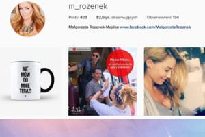 To już oficjalne: Małgorzata jest już Rozenek-Majdan!