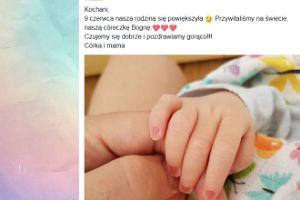 Ania Guzik powitała na świecie córeczkę! (FOTO)