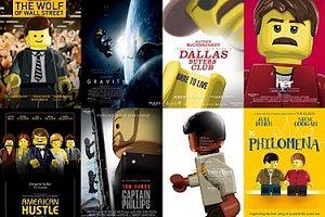 Plakaty Oscarowych filmów w wersji Lego! (GALERIA)