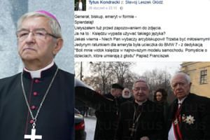 """Arcybiskup Głódź kazał fotografowi... """"SPIE*DALAĆ""""! """"Niech mi pan głowy nie zawraca!"""""""