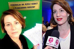 """Ostaszewska prowokuje: """"CZUJĘ SIĘ FEMINISTKĄ. Prawa kobiet to prawa człowieka"""""""