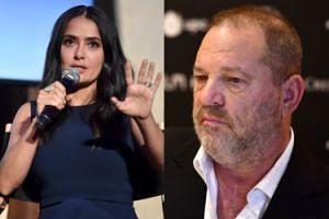"""Weinstein odpowiada Salmie Hayek: """"Nie przypominam sobie, żebym do czegoś ją zmuszał"""""""