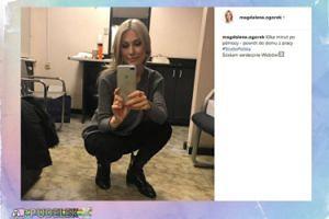 Magdalena Ogórek na nowym selfie