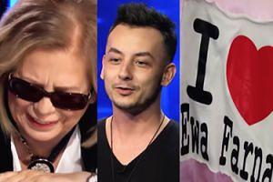 """W """"Idolu"""" wystąpił uczestnik """"The Voice of Poland""""! Przyszła też """"psychofanka"""" Ewy Farnej"""