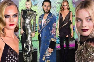 """Cara w mini, Margot w sukni z jednorożcem i stylowy Jared Leto na premierze """"Legionu Samobójców"""" (ZDJĘCIA)"""