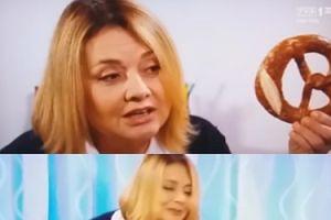 """EDUKACJA SEKSUALNA w """"Klanie"""": Grażynka uczy Maćka seksu na preclach (WIDEO)"""
