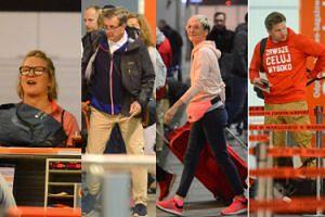 """Uczestnicy """"Azja Express 3"""" przyłapani na lotnisku! Wśród nich Gessler, Chajzerowie i Steczkowska (ZDJĘCIA)"""