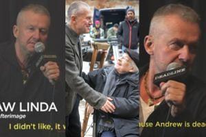 """Bogusław Linda ostro o """"Powidokach"""" Wajdy: """"Ten SCENARIUSZ BYŁ NAPRAWDĘ CH**OWY. Muszę teraz świecić ryjem"""""""