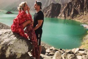 Zakochani Czarek i Maff w Zjednoczonych Emiratach Arabskich (FOTO)
