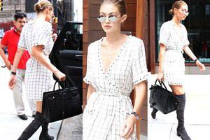 Gigi Hadid w Nowym Jorku z torbą za 10 tysięcy (ZDJĘCIA)