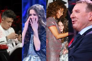 """Finał """"The Voice Kids"""": Rozanielony Kurski, Górniak w lokach i speszona zwyciężczyni (ZDJĘCIA)"""