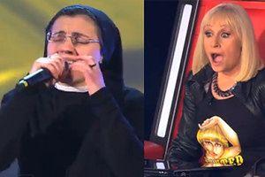 """ZAKONNICA we włoskim """"The Voice""""!"""