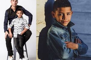 Cristiano Ronaldo wystąpił w reklamie ze swoim synem! (FOTO)