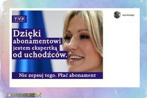 Korwin Piotrowska śmieje się z Ogórek i TVP