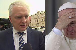 """Gowin o apelu papieża: """"Czym innym jest troska o uchodźców, a czym innym otwieranie granic Polski!"""""""