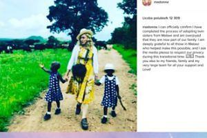 Madonna potwierdza adopcję dziewczynek z Malawi (FOTO)