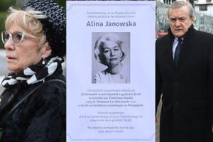 Rodzina, przyjaciele i widzowie pożegnali Alinę Janowską (ZDJĘCIA)