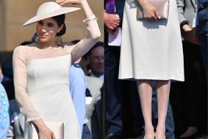 Meghan w białych pończochach debiutuje u boku Harry'ego jako księżna (ZDJĘCIA)