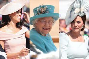 Księżne Kate i Meghan z mężami świętują 92. urodziny królowej Elżbiety (ZDJĘCIA)