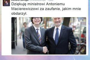 Macierewicz ma... 20-letniego doradcę