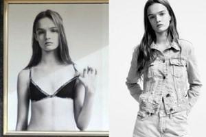 """Reklama Calvina Kleina zniknęła z brytyjskich sklepów. """"Modelka wygląda na 12-latkę, to SEKSUALIZACJA DZIECI!"""""""