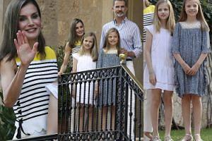 Hiszpańska rodzina królewska pozdrawia poddanych na Majorce (ZDJĘCIA)