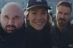 """Vega, Bołądź i Stramowski zachęcają do wstąpienia do POLICJI! """"Kręcę filmy o policjantach. Ty też możesz być jednym z nich!"""""""