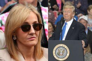 """Trump nie przywitał się z chłopcem na wózku? J.K. Rowling ostro go skrytykowała: """"Ten narcystyczny potwór PATRZY TYLKO NA SIEBIE!"""""""