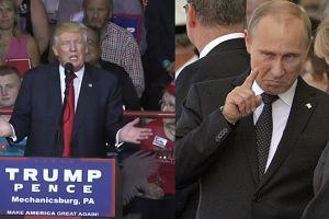 """Donald Trump: """"Byłoby dobrze dogadać się z Rosją"""""""