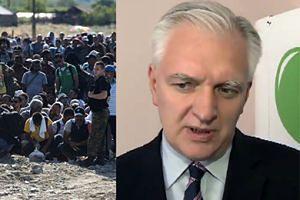 """Gowin o uchodźcach: """"Nie pozwolę na wysadzenie w powietrze polskich niemowląt!"""""""
