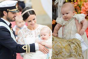 Szwecja świętuje chrzciny księcia (ZDJĘCIA)