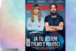 """Cielecka z partnerem na okładce """"Newsweeka"""""""