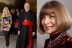 Wintour i Versace POŻYCZAJĄ UBRANIA od... duchownych z Watykanu! (ZDJĘCIA)