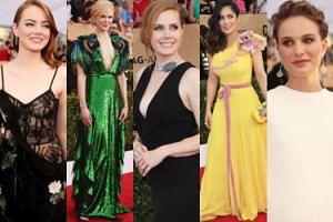 SAG Awards: Kidman, Stone, Portman, Adams, Hayek... (DUŻO ZDJĘĆ)