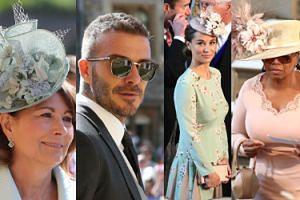Pippa, Beckhamowie, Oprah, Clooneyowie... Goście na ślubie Harry'ego i Meghan Markle! (ZDJĘCIA)