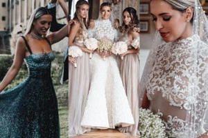 """Tak wyglądał """"ślub roku"""" brazyliskiej blogerki we Florencji! """"Bardziej stylowy niż Pippy Middleton!"""" (ZDJĘCIA)"""