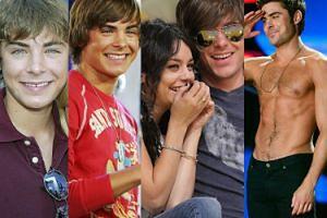 Idol nastolatek, cudowne dziecko Disneya: Zac Efron kończy dzisiaj 30 lat! (ZDJĘCIA)