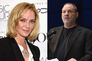 """Uma Thurman o szczegółach molestowania przez Weinsteina: """"Popchnął mnie, napierał na mnie, próbował się obnażyć""""!"""