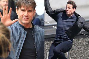 """Tom Cruise miał wypadek na planie """"Mission: Impossible 6""""! """"Źle wymierzył skok i zderzył się ze ścianą"""" (ZDJĘCIA)"""